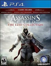 NEW Assassin's Creed: The Ezio Collection (Sony PlayStation 4, 2016)