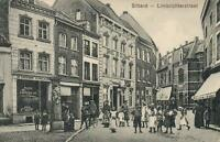 VINTAGE Limbrichterstraat Limburg POSTCARD - USED Green 2 1/2c Netherlands Stamp