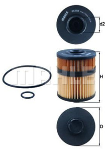 Quality Mahle OX563D Oil Filter