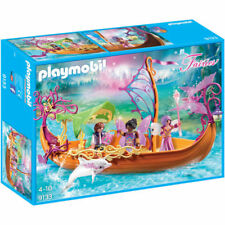 GENUINE - PLAYMOBIL Enchanted Fairy Ship - Fairies 9133