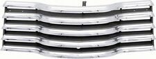 47-53 Chevy Truck Chrome Grille with Black Brackets