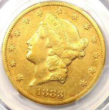 1883-CC Liberty Gold Double Eagle $20 - PCGS XF Details (EF) - Carson City Coin!