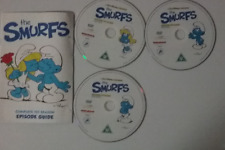 The Smurfs First Season-disc 2 missing-Discs(1, 3 & 4) DVD R2 Discs only no case