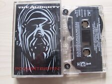THE ALMIGHTY POWERTRIPPIN' CASSETTE, 1993 POLYDOR, LYRICS, RARE TAPE, TESTED.