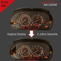 BMW 5er 7er X5 e38 e39 e53 Tacho Pixelfehler Reparatur Display LCD