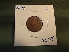1878 G Indian Head cent, see our store for more coins