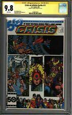 * CRISIS On Infinite EARTHS #11 CGC 9.8 SS George Perez (1330677016)
