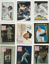 MICKEY MANTLE 20 CARD LOT.VERY NICE LOT SEE PHOTO,S