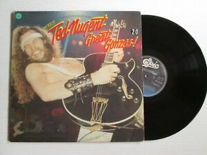 TED NUGENT The best Of - Great Gonzos LP HOLLAND PRESS HARD ROCK NO CD