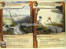 Android Netrunner LCG - 1x Jinteki Biotech / The Greenhouse  #012b - The Valley