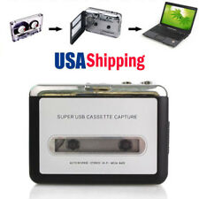 EZCAP Old Cassette Tape to MP3 WAV Converter Audio Captuer Music Walkman Player