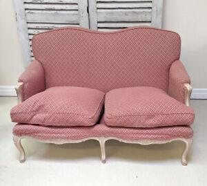 Vintage French Louis XV style 2 Seater Sofa
