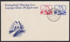 DDR FDC 282 - 283 mit SST Leipzig Petershof II 04.03.191, first day cover