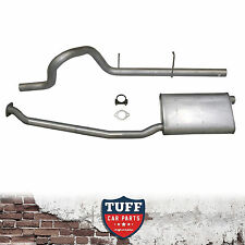 """XG Ford Falcon 6 Ute Cat Back Sports Exhaust System 2.5"""" 2.25"""" Catback Utility"""