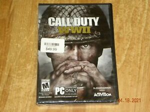 Call of Duty: WWII, Activision, PC Game Download Only FREE FAST SHIPPING!