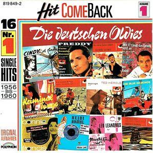 (CD) Hit Come Back - Die Deutschen Oldies - Ausgabe 1 - Leo Leandros, Ted Herold