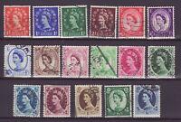 England Großbritannien Nr.   257-73    gest.  Queen Elizabeth II