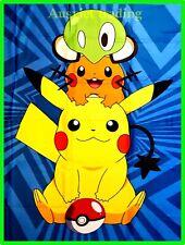Brand new Pokemon Pikachu Games boys kids children cartoon Blanket throw rug