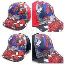 NEU Original SPIDERMAN Comic Kinder Baseball Cap Kappe Marvel
