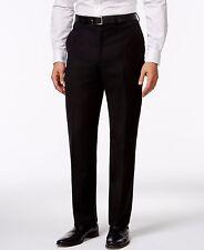 Calvin Klein Men's Solid Slim-Fit Pants, Black, 30Wx30L
