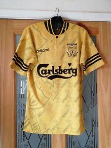 "Liverpool  Football Shirt size small 34"" - 36"" Adidas Retro"