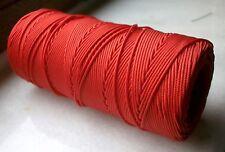 100 mètres de fil nylon Rouge tressé de 1mm Shamballa Bracelet Collier Autre