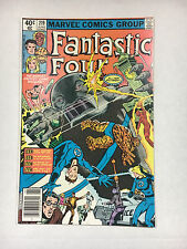 Fantastic Four #219 F  Marvel Comic 1980