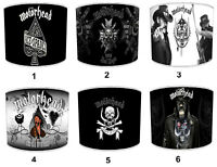 Motorhead Lemmy Lampshades, Ideal To Match Motorhead Cushions & Covers.