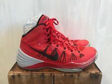 Nike 599537-600 2013 Hyperdunk THRASHED Basketball Shoes University Red 10 M