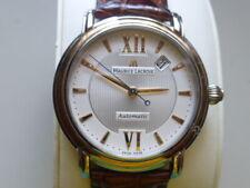 Original Maurice Lacroix Herren Armbanduhr Masterpiece Automatique Lüntette Gold