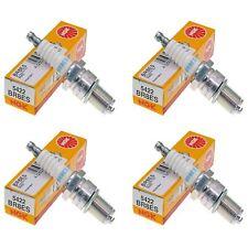 NGK BR8ES Spark Plugs Pack of 4 fits Keeway TX 50 X-Ray 2008- 2009