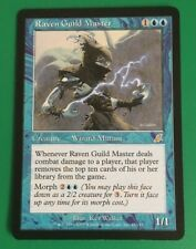 MTG Scourge Raven Guild Master Card Light Play!