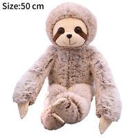 Plush Sloth Soft Toy Teddy Furry Animal Monkey Doll Pillow Soft Stuffed Toy