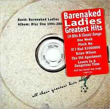 BARENAKED LADIES : DISC ONE: ALL THEIR GREATEST HITS 1991-2001 (CD) sealed