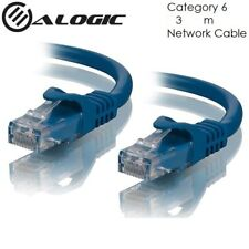Alogic CAT6 3m Network Cable Lifetime Warranty - 3 Meter - Blue - edc