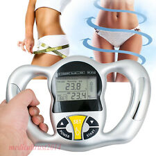 Portable Digital Handheld Body Mass Index BMI Health Fat Analyzer Monitor Tester