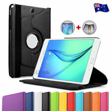 Synthetic Leather Tablet & eBook Smart Covers/Screen Covers Folios for Galaxy Tab A