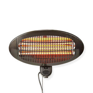 Patio Heater Wall Mounted 2000W Outdoor Space BBQ