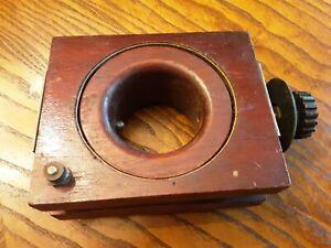 1920's Wooden Workrite Variometer Variocoupler