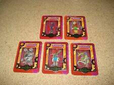 Digimon Taco Bell cards Machinedramon-Piedmon-Myotismon-Metalseadramon-Puppetmon