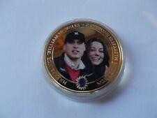 Prince William and Kate Middleton Commemorative Coin