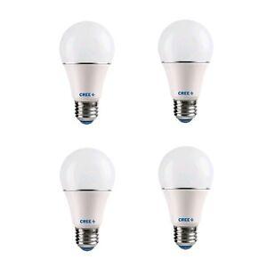 Cree 4 Pack LED 40 Watt Replacement 2700K Soft White Light Bulbs 465 Lumens [B2]