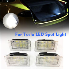 4x Car Door LED Light Trunk Boot Footwell Glove Box Light For TESLA MODEL X S 3