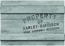 Property of Harley-Davidson® Motorcycle Crate Get Well Soon Card (7x5) HDL-20015