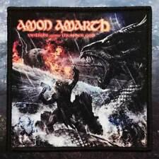 Amon Amarth - Twilight of the Thunder God   Printed Patch   Death / Viking Metal