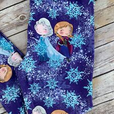 Frozen Anna Elsa Snowflake Women's Leggings Plus Size TC 12-20