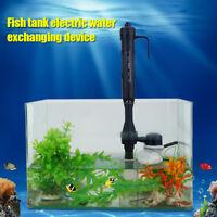 Electric Aquarium Pump Filter Fish Tank Water Cleaning&Changing Tool Adjustable