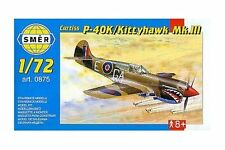 SMER 0875 1/72 Curtiss P-40K Kittyhawk Mk.III