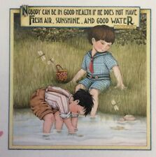Mary Engelbreit Handmade Magnet-Nobody Can Be In Good Health If He Does Not Have