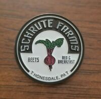 NEW Schrute Farms Enamel Pin - The Office - Dwight Schrute Beets